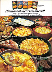 Vintage Ad #880: Tired of Plain-Meat Meals?