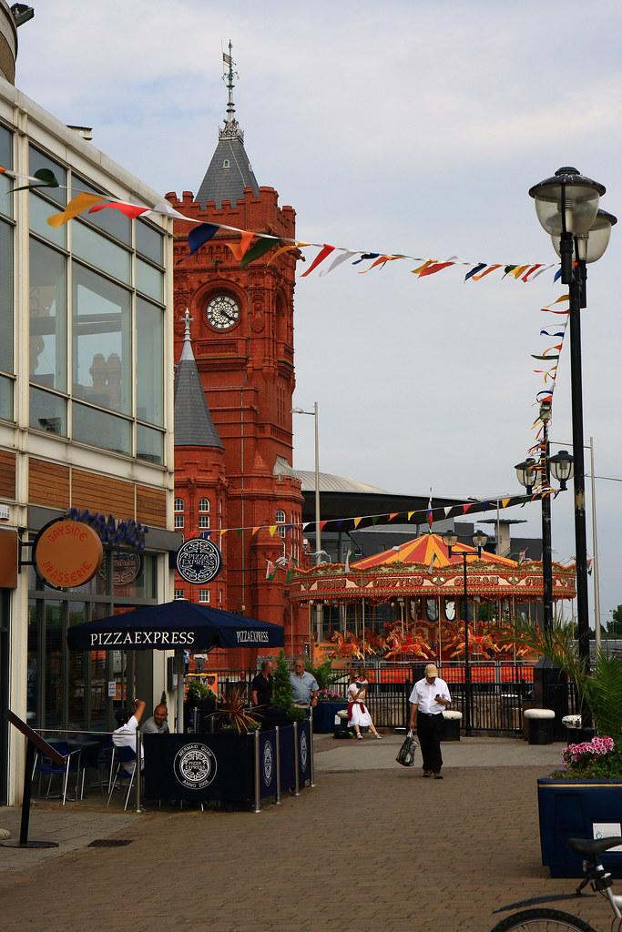 Cardiff Bay Cardiff Wales Uk Jari Kurittu Flickr