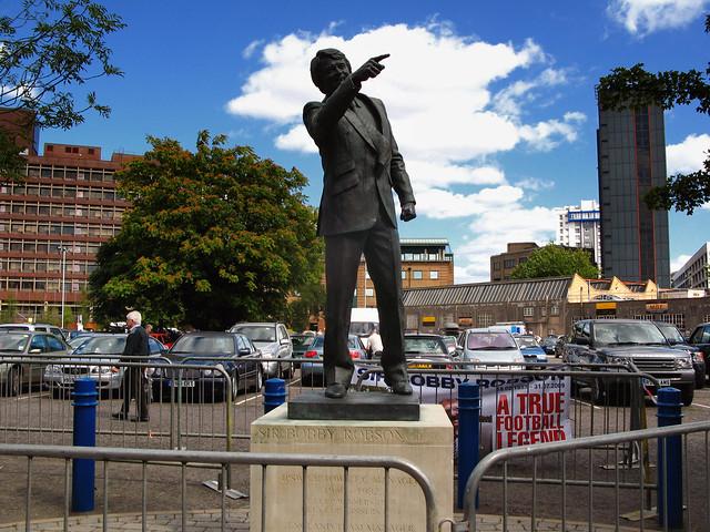 Bobby Robson statue, Portman Road, Ipswich