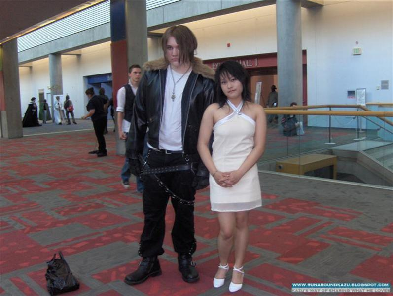 Squall and Rinoa cosplay at FanimeCon2009