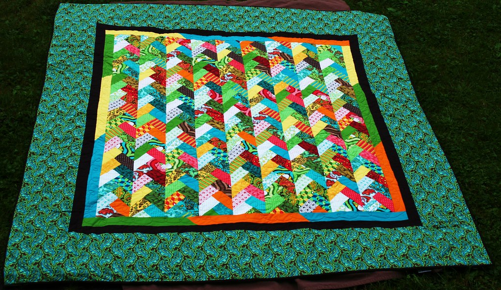 Braid quilt in Nest for Jessica