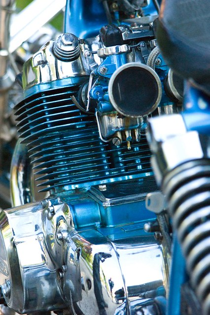 AME HONDA | engine of an AME old fashioned chopper | OlliL | Flickr