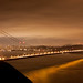 Golden Gate by night by ginader