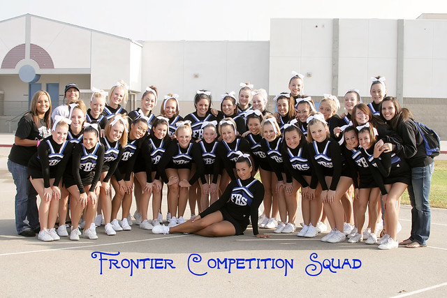 Frontier High School Cheerleaders 2009 The Competition Tea Flickr