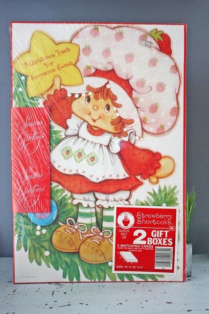 Vintage Strawberry Shortcake Boxes | Flickr - Photo Sharing!