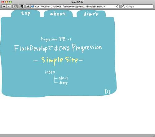SimpleSite - FlashDeve...