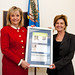 Rep. Mary Fallin receiving Congressional Award from Century Council