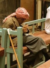 Old Man in Manama