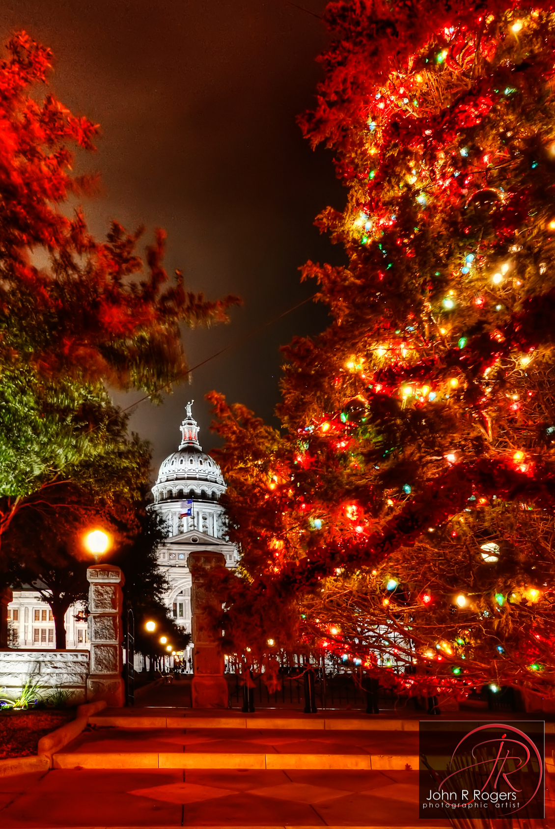 Austin Texas Capitol Christmas Tree