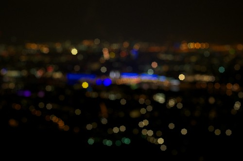 City Lights - Bokeh'd