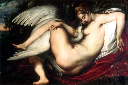 Peter Paul Rubens- Leda with Swan by Art Images Directory