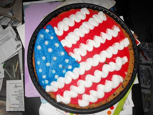 cookie motivo 4 de julho EUA