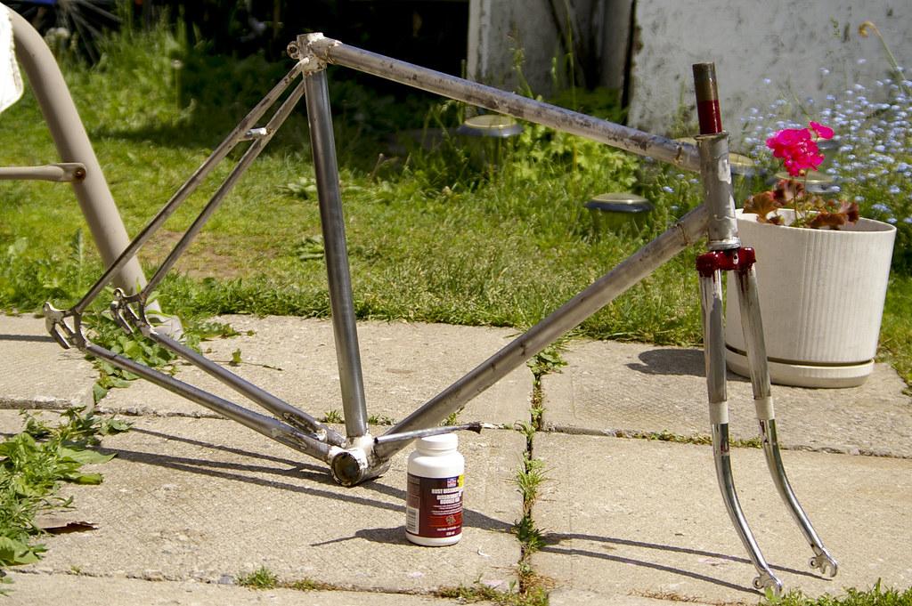 Raleigh Rebuild: Nude frame