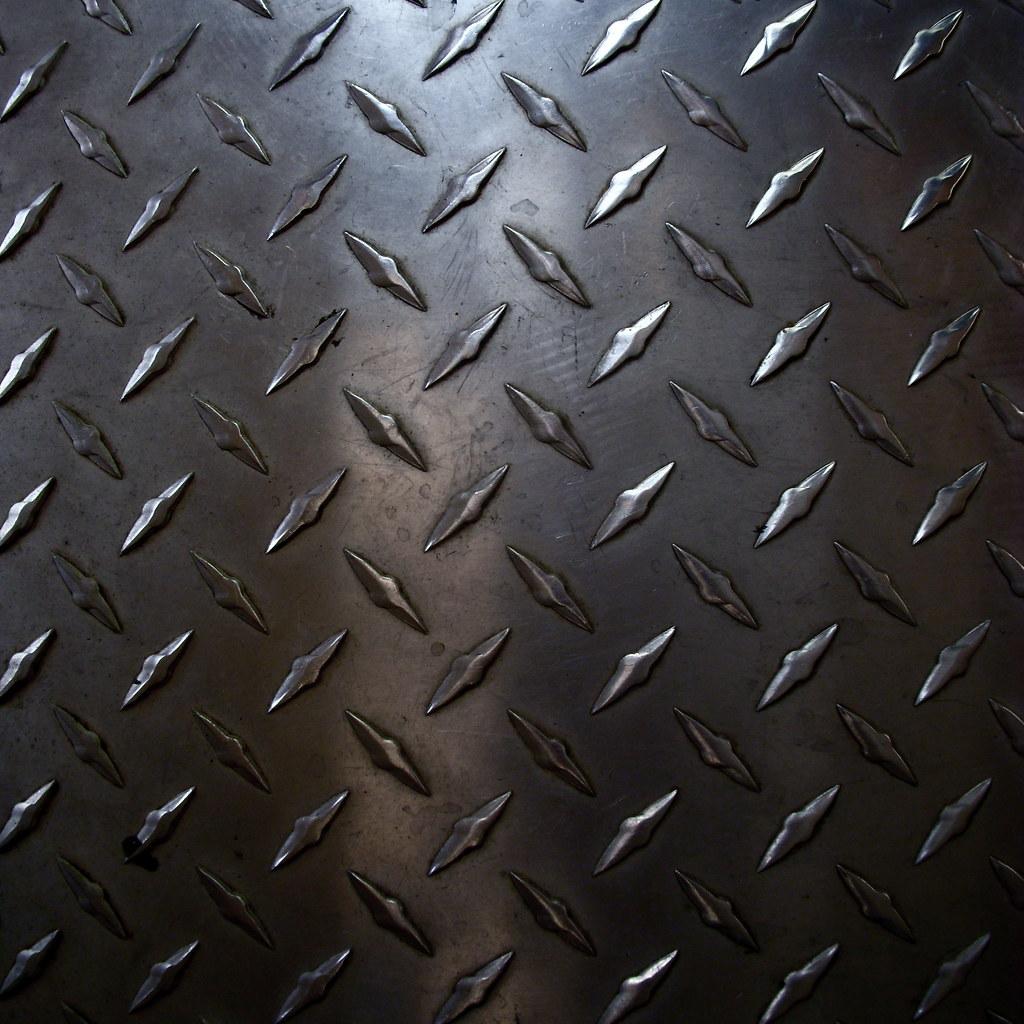 Rough Diamond Plate Metal