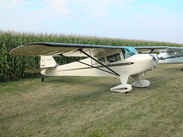 Taylorcraft Bc 12d Mendota Fly In Breakfast 2002 By