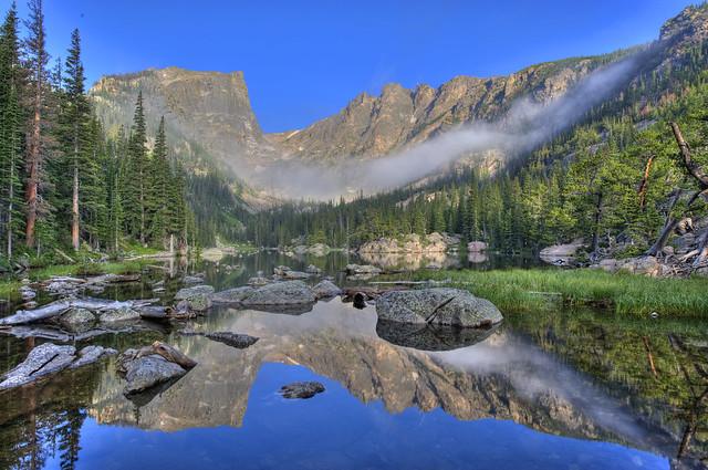Dream Lake Rocky Mountain National Park Colorado