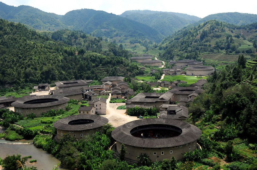 河坑土楼群 Hekeng Tulou, Fujian