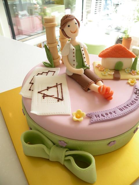 Architect Birthday Cake