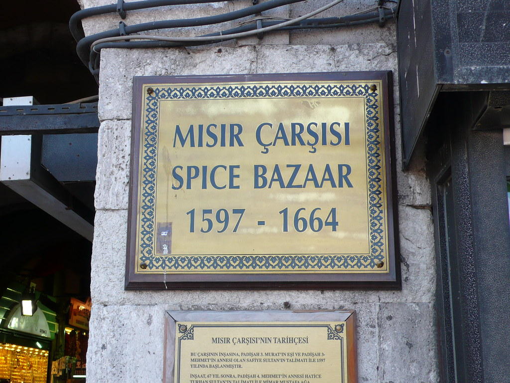 Historic Istanbul Spice Bazaar