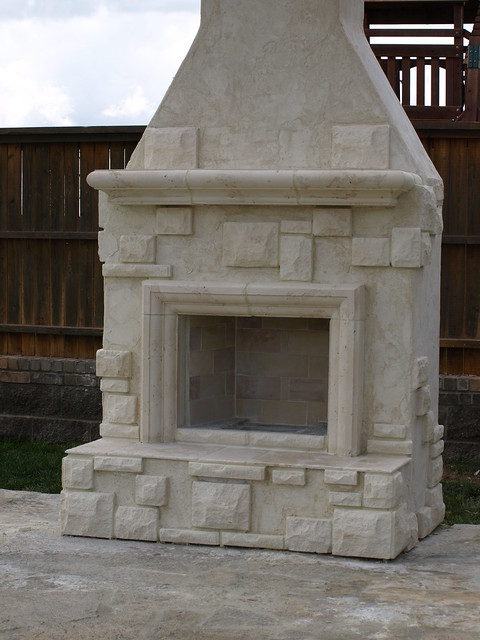 Austin Stone Fireplace And Stucco Flickr Photo Sharing