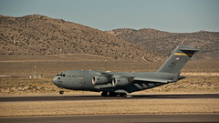 aviation, airplane, vehicle, cargo aircraft, military transport aircraft, boeing c-17 globemaster iii, jet aircraft, aircraft engine, air force,