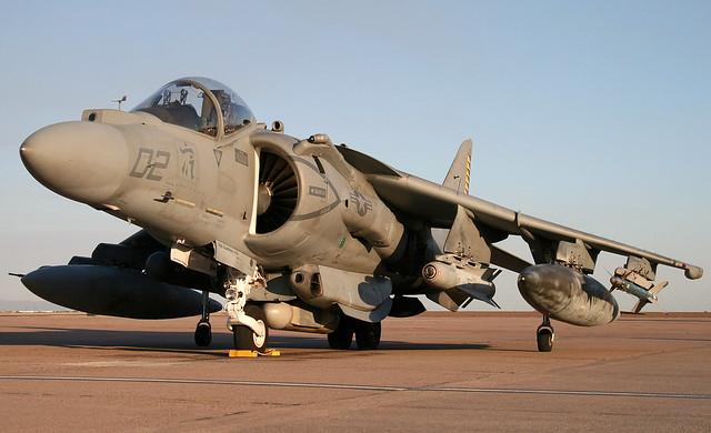 McDonnell-Douglas AV-8B Harrier II Plus BuNo 164558, VMA-542