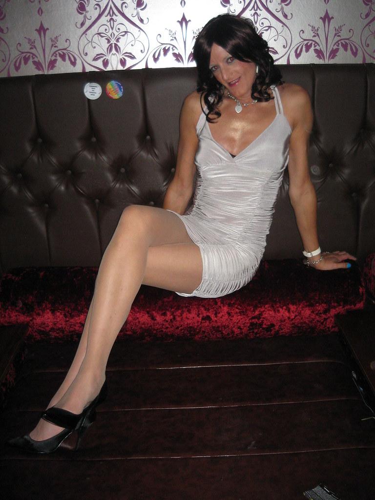 larissa white Tranny couch on