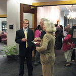 Guests Visit During Herring Reception
