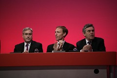 Iain Gray, Jim Murphy, Gordon Brown