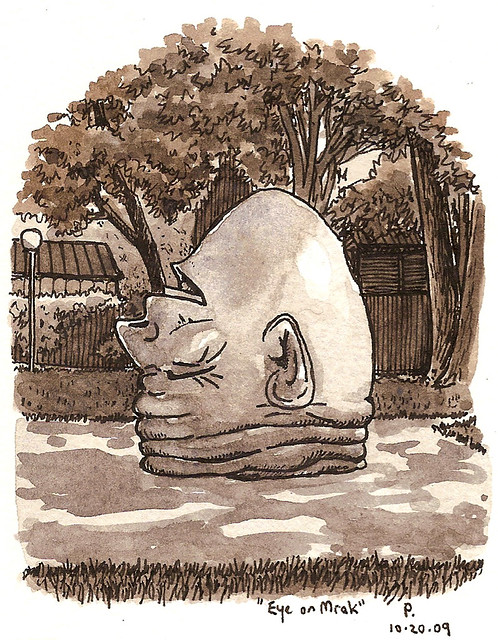 'eye on mrak' egghead