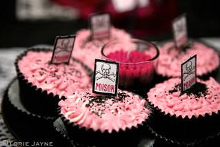 Halloween table - Cupcakes
