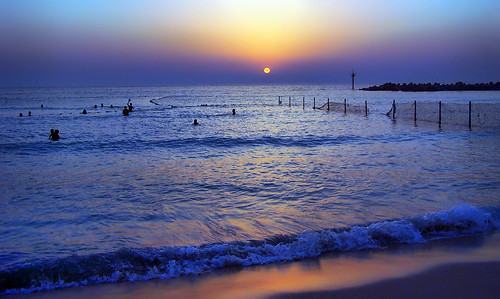 blue love beach swimming dubai sundown kodak unitedarabemirates jumeirah jumeirahbeach pinoykodakero merlinojimenez easysharedx6490 yellowuae