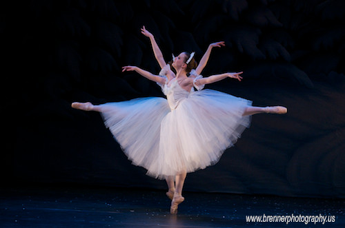 Every Snowflake Is Unique - Nutcracker Ballet Photography by WB - CMH