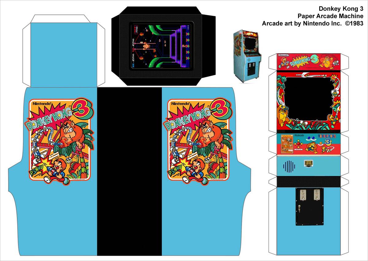kong 3 arcade machine