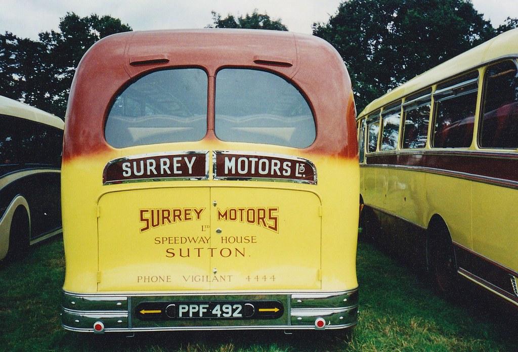Surrey Motors AEC Regal coach