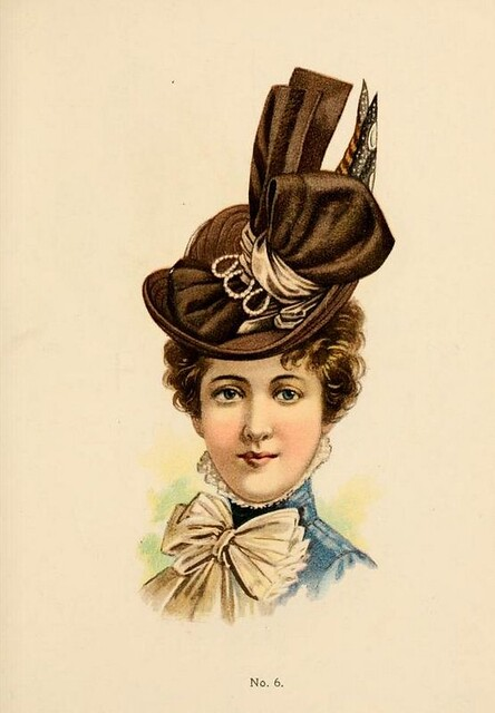 hats by h o 39 neill of new york 1899 1900 catalogue hat no. Black Bedroom Furniture Sets. Home Design Ideas