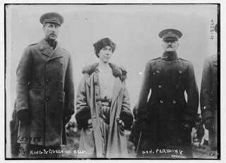 King & Queen of Belg., Gen. Pershing (LOC)