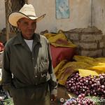 Honduran Vendor at Market - La Esperanza, Honduras