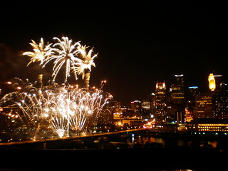 The Aquatennial Fireworks '09