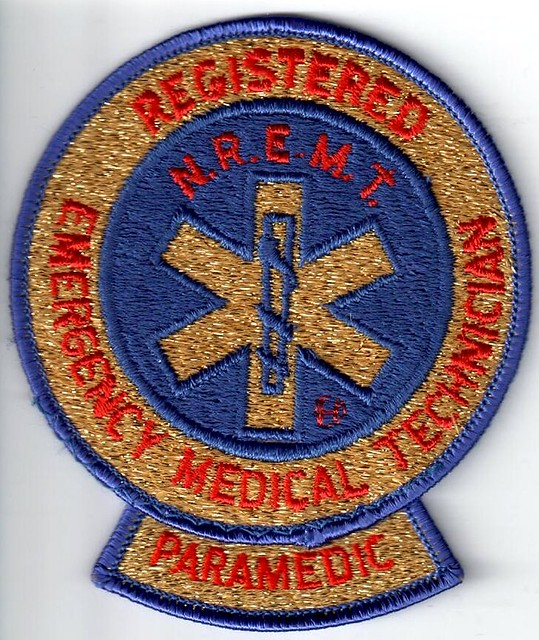 national registry paramedic patch