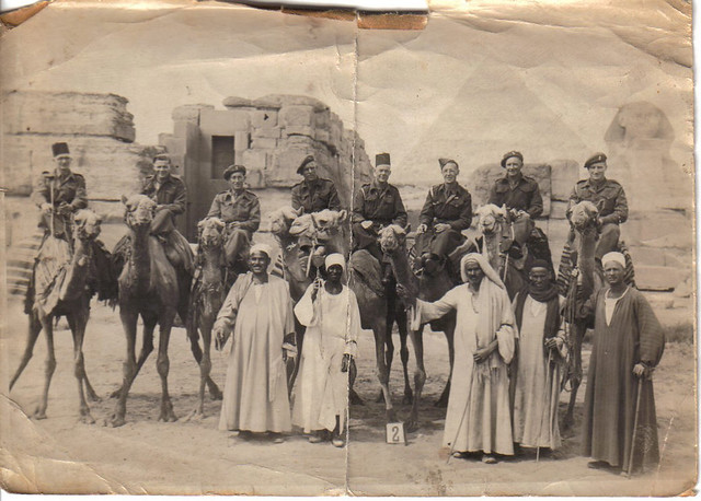 Grandad in Egypt 1944 (?)