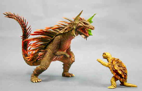Gamera vs. Zedus | Flickr - Photo Sharing!