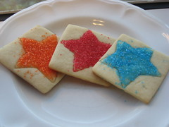 Star sugar cookies