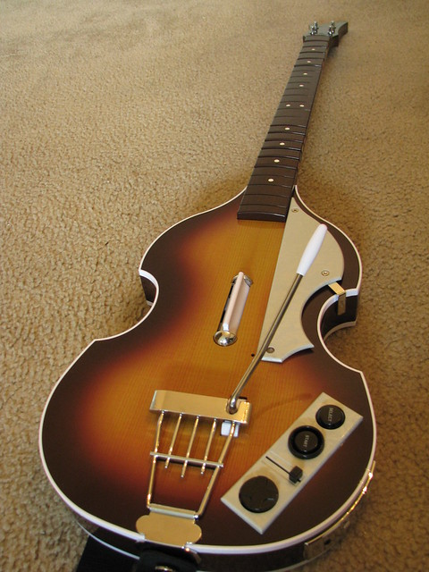 Photo:Beatles Rock Band Hofner Bass By marcus nunes