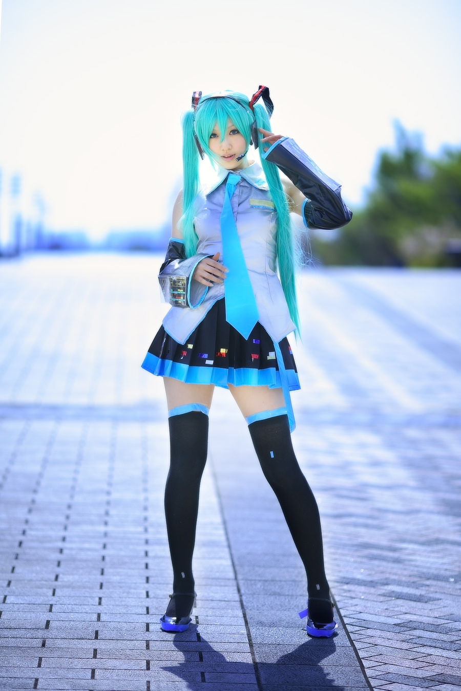 hatsune miku cosplay - photo #23