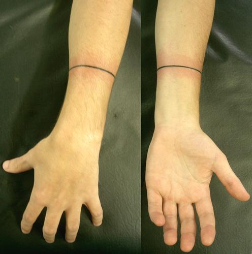 Tatuagem wrist line linha pulso tattoo   Flickr - Photo ...