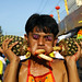 Vegetarian festival in Phuket by Bertrand Linet