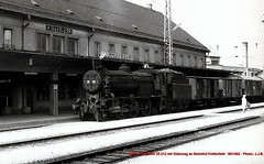 ÖBB - Steam loc. 35.212 - Knittelfeld - 06/1962 - Photo: J.J.B.