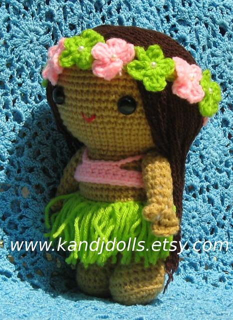 Anela the Hula girl, human Amigurumi Flickr - Photo Sharing!