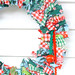 holiday rag wreath (12)